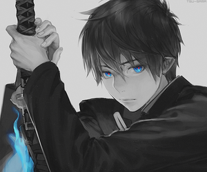 anime, ao no exorcist, and boy image