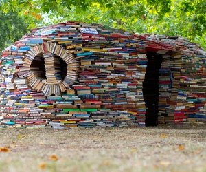 book, house, and reading image