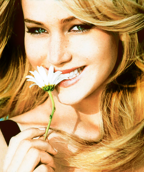Jennifer Lawrence, flowers, and actress image