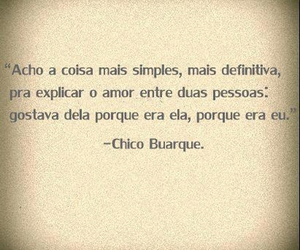 love and chico buarque image