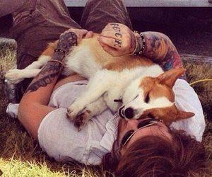 tattoo, dog, and asking alexandria image