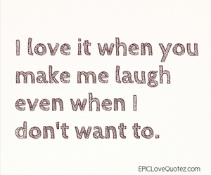laugh, quote, and love image
