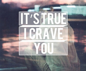 love, quote, and crave image