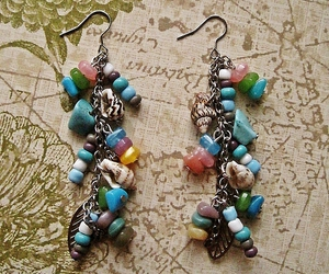 accessory, beach, and beaded image
