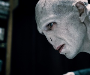 harry potter, ralph fiennes, and voldemort image