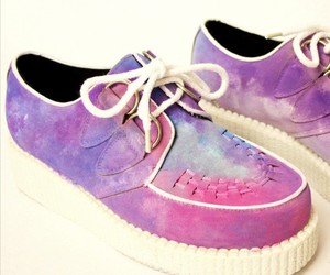 creepers, shoes, and pastel image