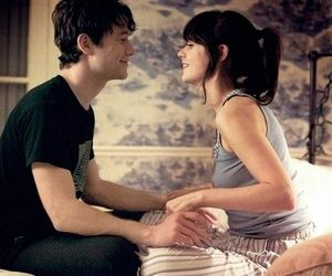 500 Days of Summer, couple, and movie image