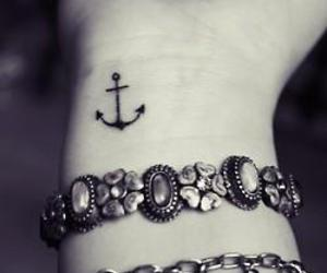 bracelet, fashion, and inked image