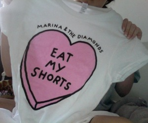 marina and the diamonds, pale, and eat my shorts image