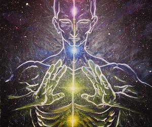 light and spiritual image