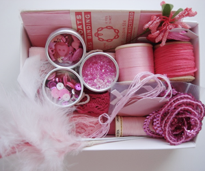 inspiration, pretty, and pink box image