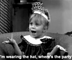 party, full house, and olsen image