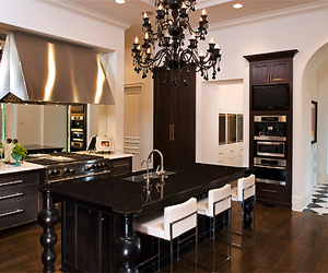 cool, kitchen, and luxury image