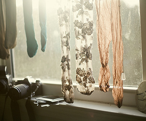 camera, tights, and window image