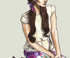 draw, girl, and illustration image
