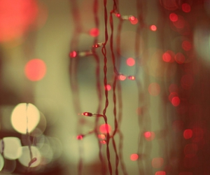light, red, and christmas image