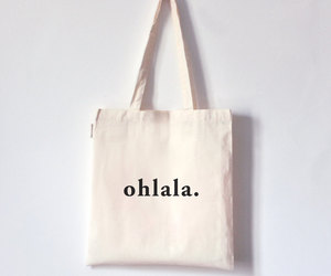 ohlala totebag canvas image