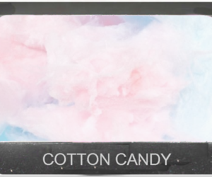 adorable, blue, and cotton candy image