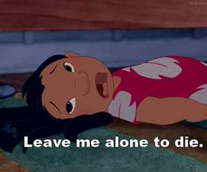 lilo, die, and alone image