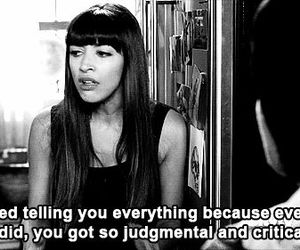 quote, critical, and new girl image