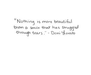 quotes, demi lovato, and smile image