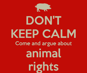 animal rights, vegan, and vegetarian image