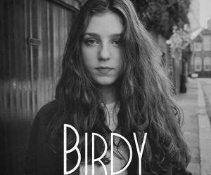 birdy, black and white, and music image