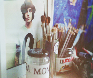 kellin quinn, art, and nutella image