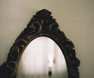 mirror and vintage image