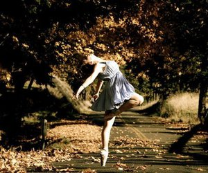 ballet, dance, and blue image