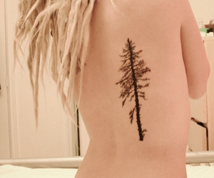 dreads, piercing, and girl image