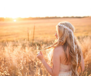 alone, hair style, and bohemian image