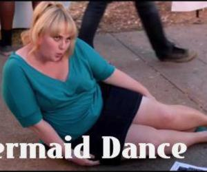 fat amy, pitch perfect, and mermaid dance image