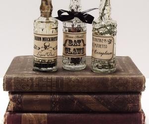 bottle, magic, and potion image