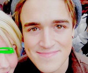 dimple, eyes, and McFly image