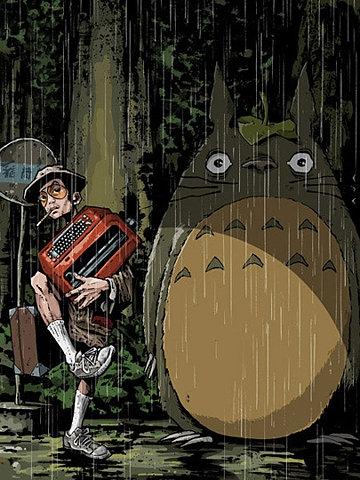 totoro, anime, and Hayao Miyazaki image