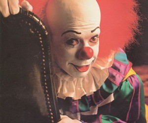 it, horror, and clown image