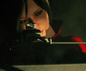 gaming, resident evil, and ada wong image