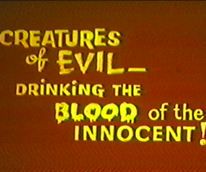 blood, evil, and innocent image