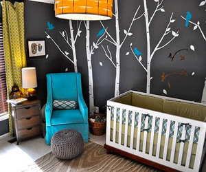 baby, baby room, and blue image