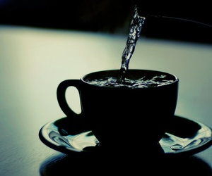 cup, photography, and water image