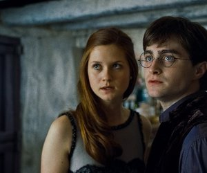 harry potter, ginny weasley, and daniel radcliffe image