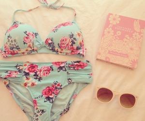 summer, bikini, and sunglasses image