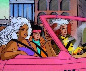 90's, animated, and car image