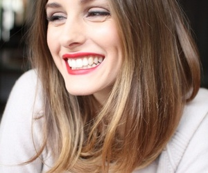 hair, olivia palermo, and smile image