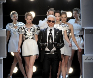 fashion, model, and chanel image