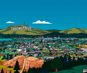 springfield and simpsons image