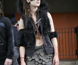 outfit and wolf image