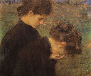 art, grief, and victorian image