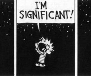 calvin and hobbes, comic, and calvin image